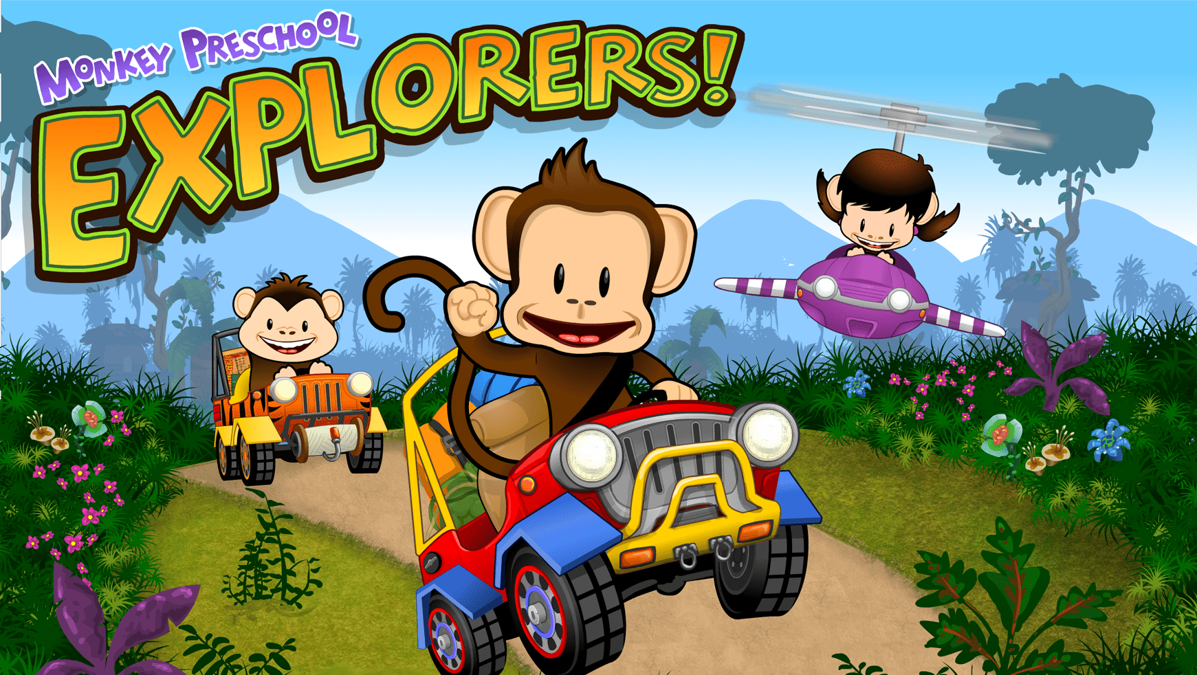 Monkey Preschool Explorers