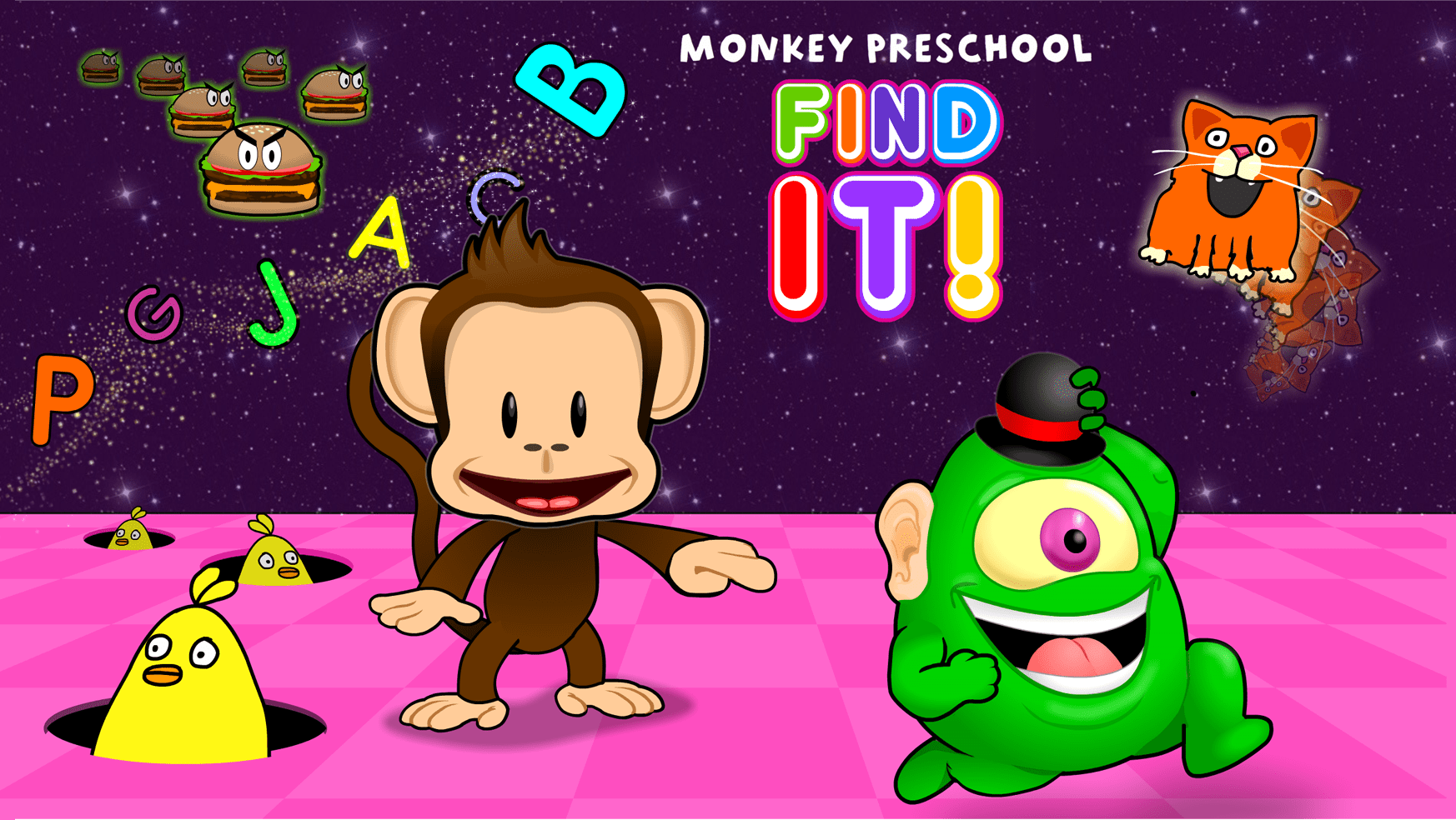 Monkey Preschool Find It