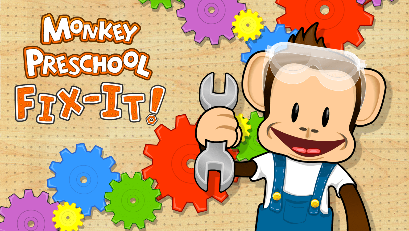 Monkey Preschool Fix-It!