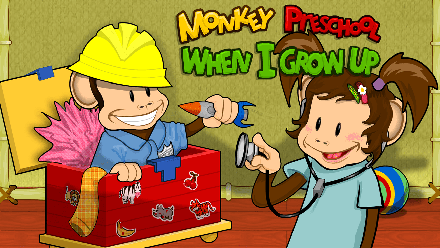 Monkey Preschool: When I Grow Up