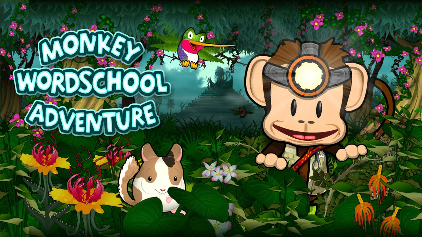 Monkey Word School Adventure